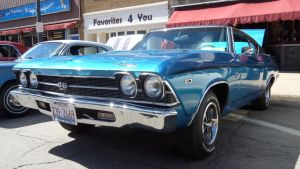 1969 Chevrolet Chevelle by sfaber95