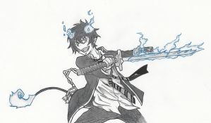 Blue Exorcist RIN by carlyFMA