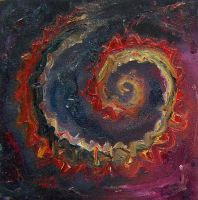 Abstract spiral by lazzaris
