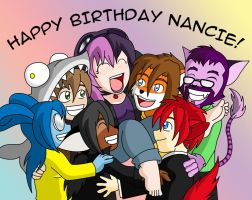HAPPY BIRTHDAY NANCIE by CheshireCaterling