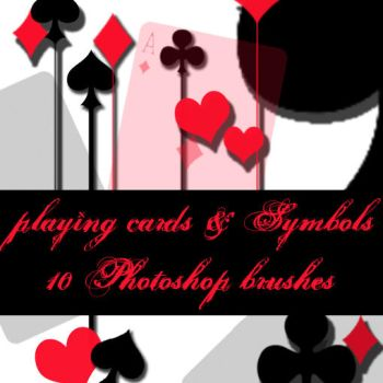 playing cards brushes by Jarednuss