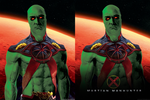 Martian Manhunter Poster by LamboMan7