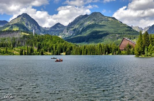 Mountain lake - Strbske Pleso II by miirex