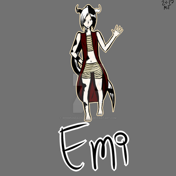 Emi [A less angsty picture] by ReddpandaChan1025