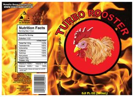 TURBO ROOSTER Energy Drink by Nelhemyah