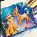 Disney Christmas by Lucky978