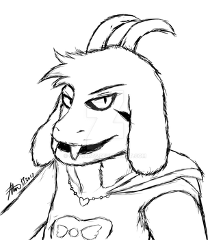 Troublesome Goat by GalliArts