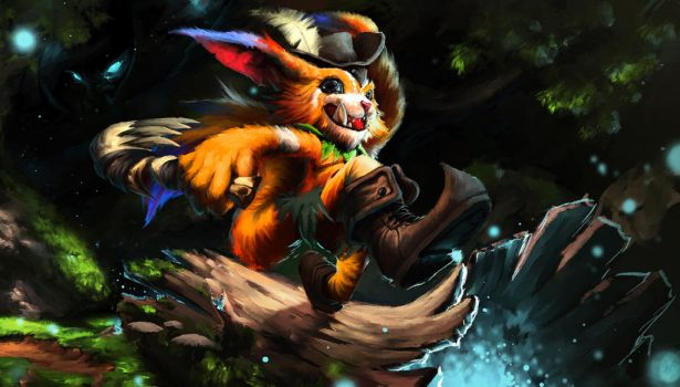 Gnar Fanart LOL by Devoratus