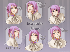 AdM: Expression Meme by iZince