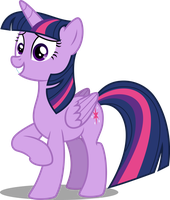 Twilight smilling by MacTavish1996