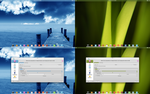 Arch KDE be::shell/bespin transparent colors by CraazyT