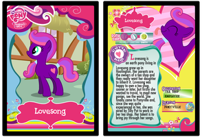 Lovesong trading card by Shokka-chan