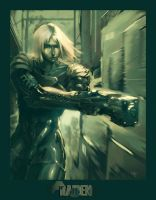 MGS2 RAIDEN by angrymikko