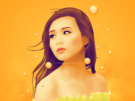 Asian beauty by firmacomdesign