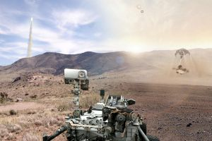 Curiosity Mars Rover: Between Two Worlds by tjblackwell
