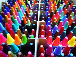 Crayons by Atom001