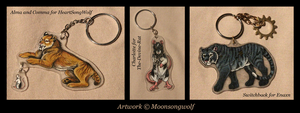 Vesperian Creatures Charm Batch by MoonsongWolf