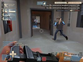 Weird Kill In Team Fortress 2 by LPWingedSoldier
