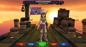 Pirate101 Little Caitlin Wright ( my character ) by Angelicsweetheart