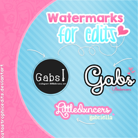 Watermarks For Edits! by CatastrophicEdits