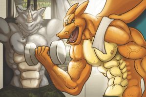 Pokemon Gym by Bogrim