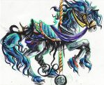 Carousel Horse by Lucky978