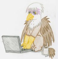 Gilda Griffon Request by LordDominic