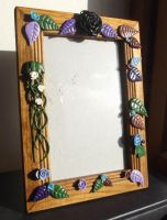 Forest pictureframe by MeticulousBlue