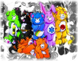 Commission, Care Bears by YukariAsano