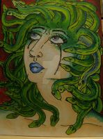 Medusa Before Release by hecatescrossroads