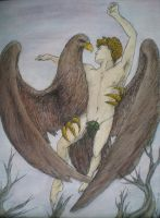 The Abduction Of Ganymede by NicholasAx