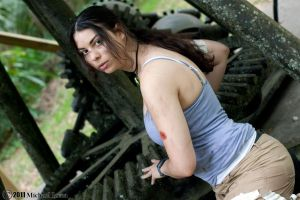 Lara Croft - Not who you think by HoodedWoman