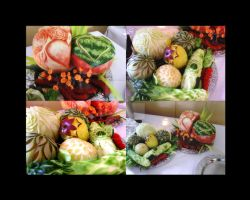 Fruit Carving No3 by RainOfBlackRose
