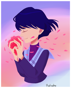 Sailor Saturn by Queen-Of-Tacos