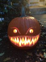 Cute Halloween Pumpkin by The-EvIl-Plankton