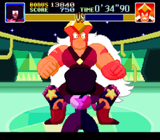 Steven Universe X Super Punch-out! by JokesOnTwo