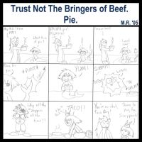 Trust Not The Bringers of Beef by purplelemon