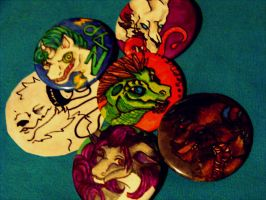 Buttons Buttons Round 1 by GlueBandit