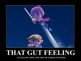 .:That Gut Feeling:. by ssbbgamergirl