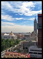 Mexico City Downtown by sazuka
