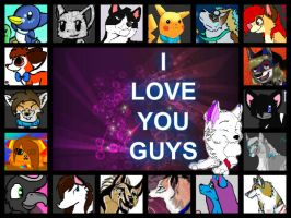 I Love My Friends (Dedicated To My Friends) by XxStarryEyedMoonxX