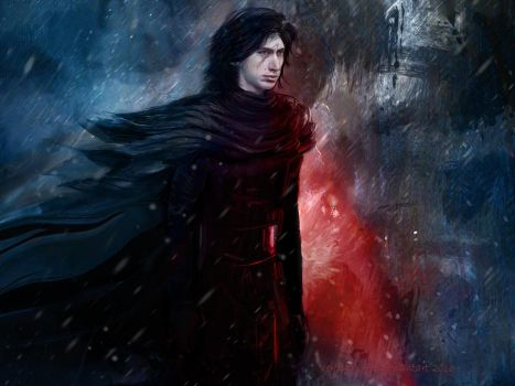 Kylo Ren by Veronika-Art