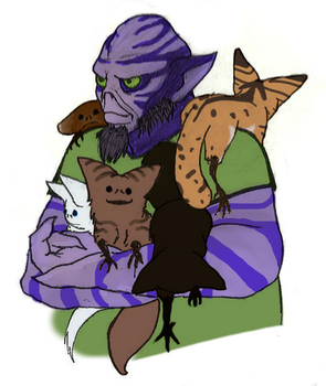 Zeb with LothCats by Nibbz