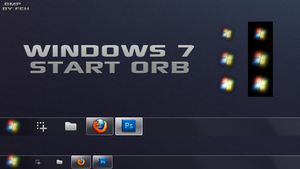 Windows 7 Start Orb by FernandoImaginary