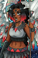ACEO COM: Sailor Seraphim by Jyinxe