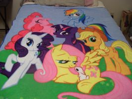 MLP Throw Blanket by SonicAmp
