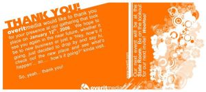 Overit thank you cards... by Lawnz
