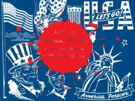 American Patriotism by UncommonARTicles