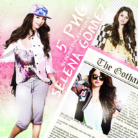 PNG PACK (56) Selena Gomez by DenizBas