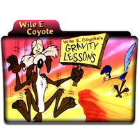 Folder Icon Wile E Coyote by PeterPawn